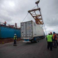 """En los primeros 9 meses, el Puerto """"quintuplicó"""" sus importaciones"""