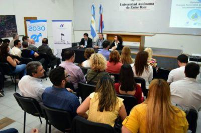 Entre Ríos contará con una Diplomatura en Energías Renovables