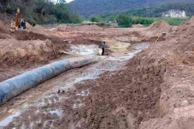 Avanza la construcción del acueducto en el departamento San Martín
