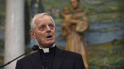 El papa Francisco aceptó la renuncia del cardenal estadounidense Donald Wuerl, acusado de encubrir abusos