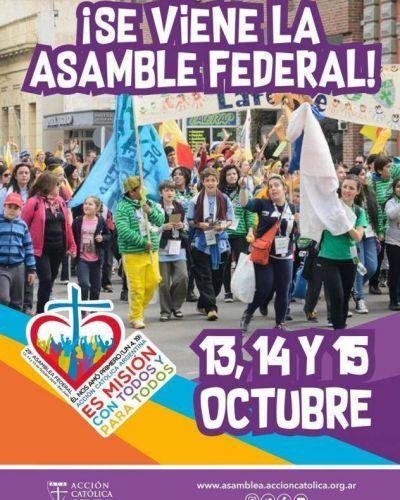 San Juan ya palpita la Asamblea Federal de la Acción Católica