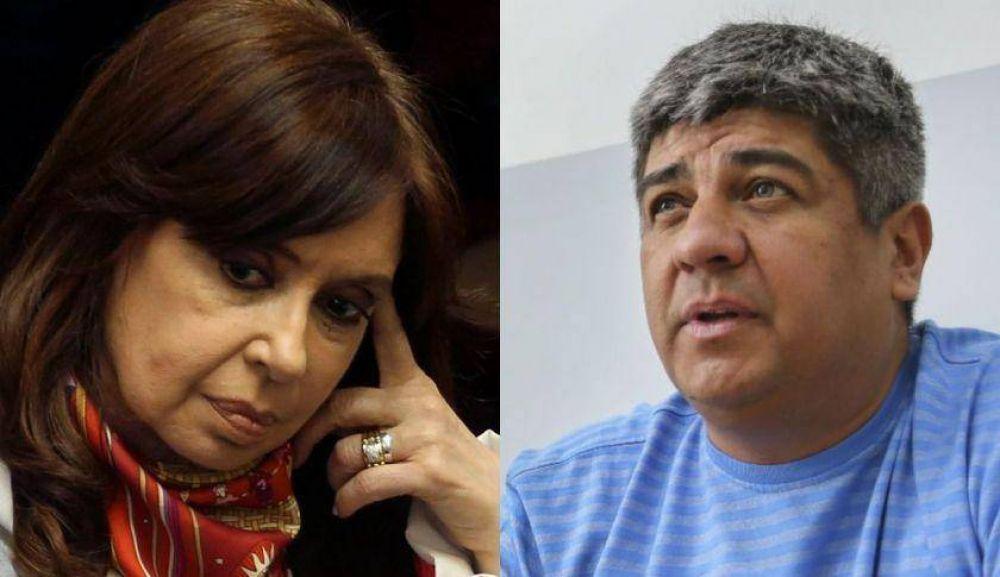 Cristina recibió a Pablo Moyano: presupuesto, ajuste y rechazo al FMI