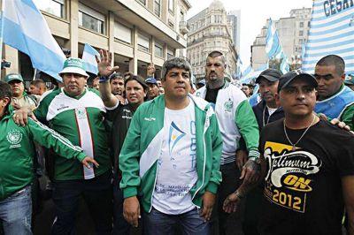 Los gremios desafían a la Justicia con un paro si detienen a Pablo Moyano