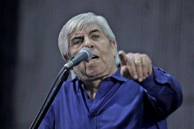 Hugo Moyano, contra Elisa Carrió: