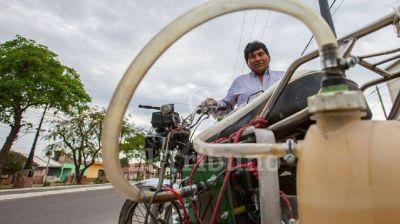 Barato y ecológico: un argentino fabricó una moto que usa agua en vez de nafta