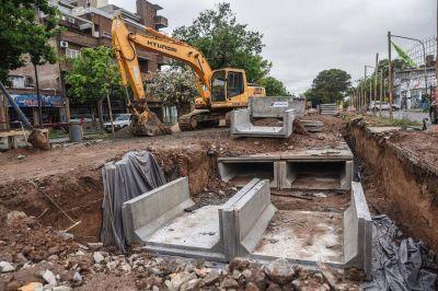 Avanzan a buen ritmo las obras de remodelación de Avenida Freyre