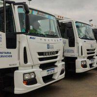 El municipio de Malvinas Argentinas adquirió 15 Iveco Tector para recolección de residuos