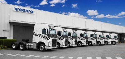 Empresas: Surfrigo logró un ahorro de 9.000 litros de combustible mensuales con su flota Volvo