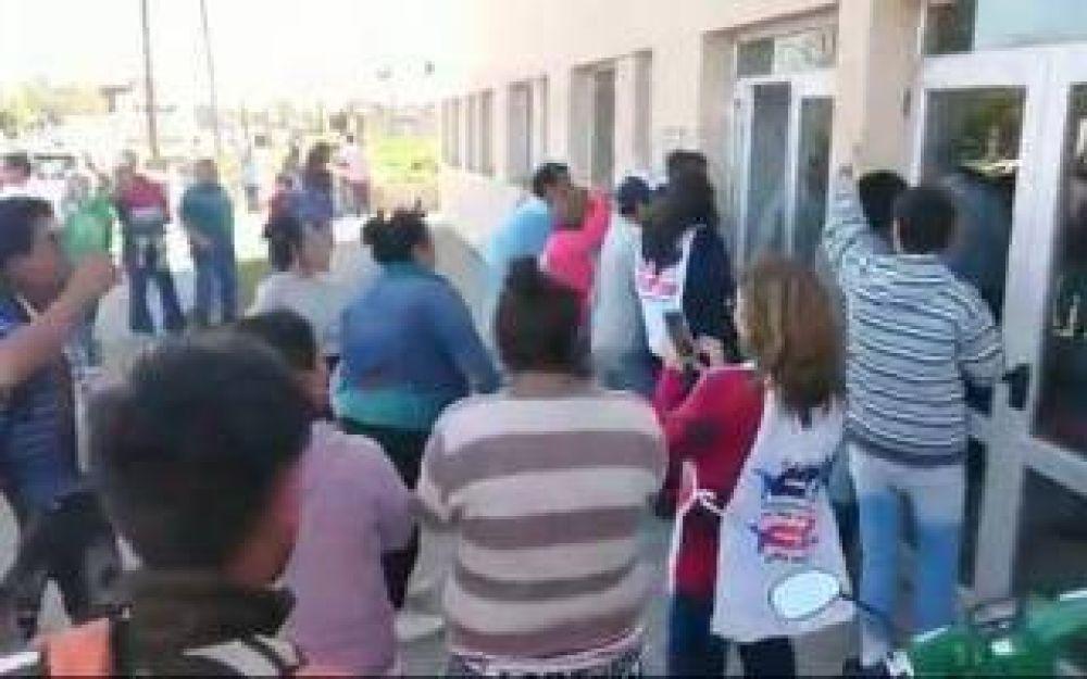 Chascomús: La CTA apoyó a los trabajadores que escracharon a Vidal y denuncian