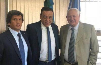 Cáffaro se reunió con el Presidente del Tribunal de Cuentas de la Provincia