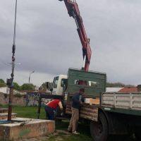 Barrio 9 de Julio: se instaló nueva bomba de agua y se normaliza el servicio