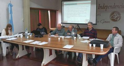 Presentaron los proyectos y obras hídricas prioritarias para San Genaro