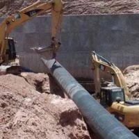 Avanza la obra para mejorar el servicio de agua