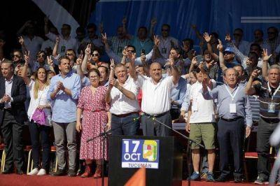 El peronismo que se reunió en Tucumán dejó claro su principal desafío para 2019: construir la unidad sin Cristina Kirchner