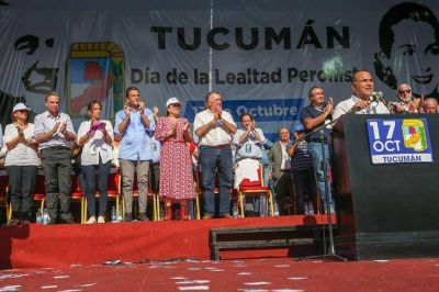 Virtual lanzamiento de Massa como candidato a presidente en Tucumán