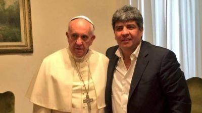 Gesto de la Iglesia con Hugo Moyano en medio de la pelea con el Gobierno