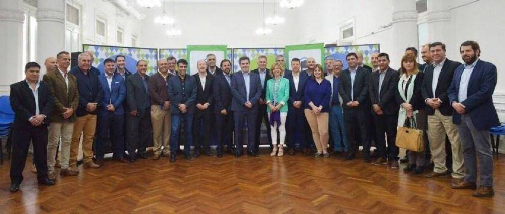 Facundo López con Cristian Ritondo en Bahía Blanca, en análisis de la seguridad regional