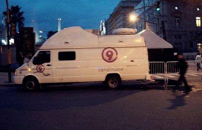 Canal 9 avisó que no pagará sueldos y presentó un preventivo de crisis