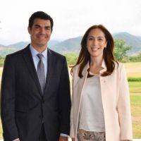 Vidal y Urtubey sorprendieron con un almuerzo en plena discusión por el presupuesto