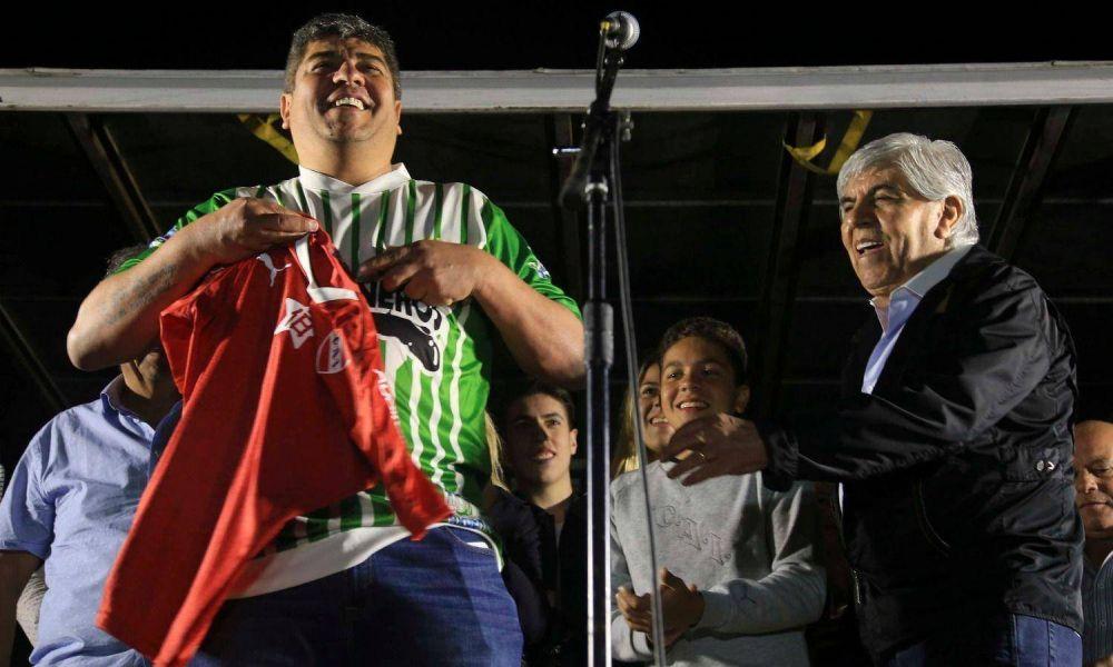 Moyano quiere un lujanazo que lo consolide como líder sindical combativo