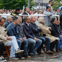 Los políticos y sindicalistas que participaron del acto de Moyano en Luján