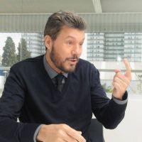 Marcelo Tinelli quedó primero en una insólita encuesta para presidente