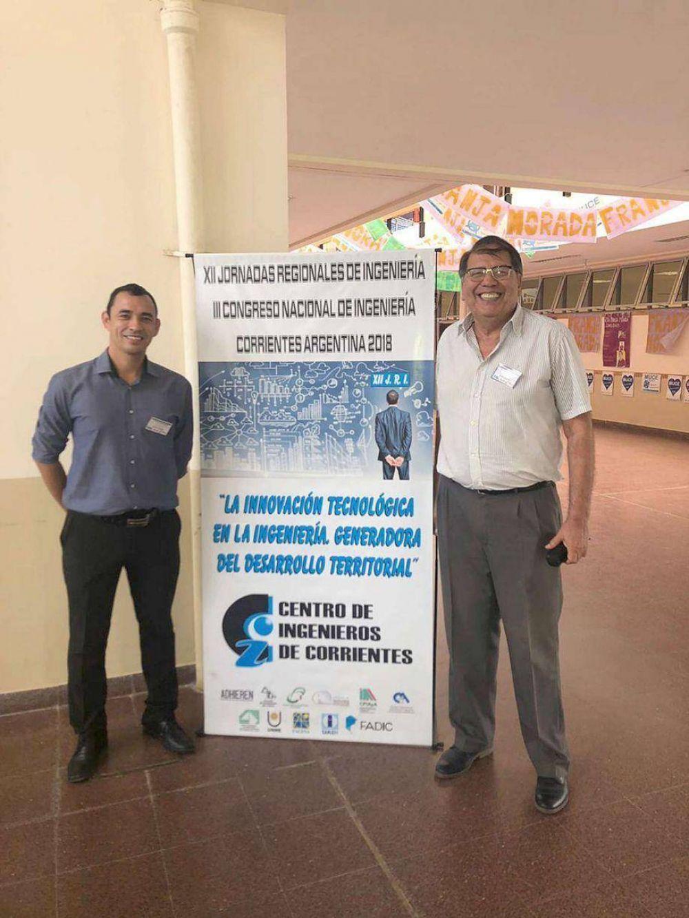 Ingenieros formoseños participaron de jornadas nacionales en Corrientes