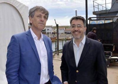 """Merlini: """"Se viene más producción y más trabajo para el puerto marplatense"""""""