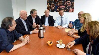 Massa se reunió con Stolbizer, Alfonsín, Lifschitz y Bonfatti para empezar a construir una alternativa de cara al 2019