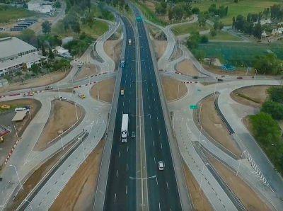 Inauguraron una autopista urbana en Rosario