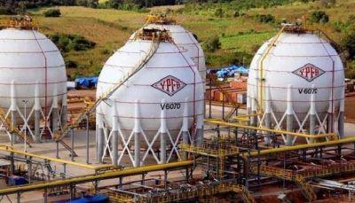 Producción de GLP en Bolivia alcanzó solo poco más de la mitad de la capacidad instalada