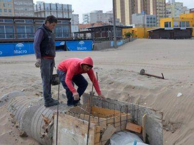 Está por finalizar la obra del nuevo pluvial sobre la Avenida 2