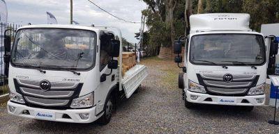 Foton presentó sus camiones livianos Aumark S1 614 y Aumark S3 815