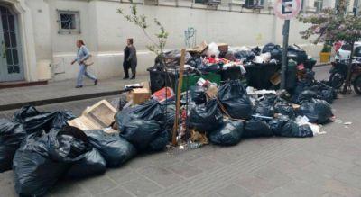 Por un paro del Surrbac no hay recolección de residuos