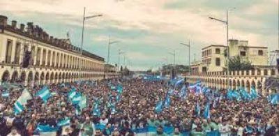 Misa de Luján: el centro es la oración del pueblo
