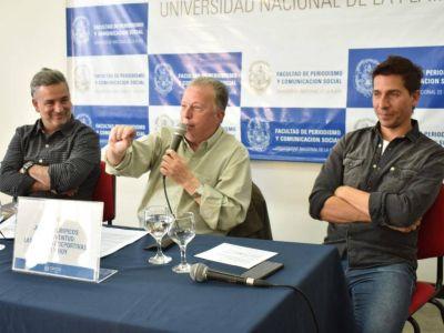Víctor Lupo disertó sobre políticas deportivas en la Facultad