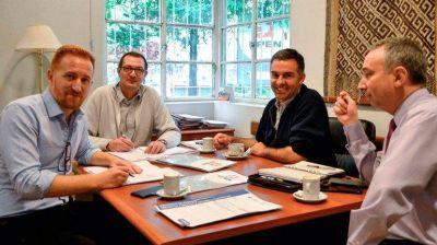 Acuerdo por obras clave en el parque eólico Los Meandros
