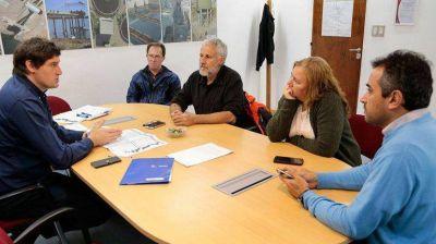 Analizaron con el EPAS el avance de las obras de cloacas