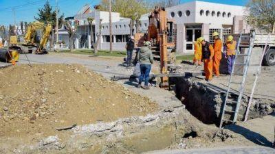 Pluviales 2020: comienzan a preparar el terreno para la pavimentación
