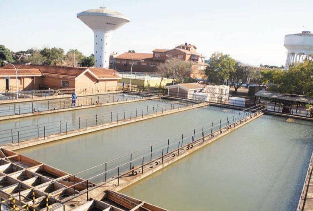 Agua: realizarán trabajos para mejorar la eficiencia de la planta potabilizadora de Posadas