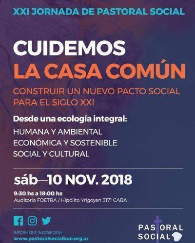 Inscriben en la XXI Jornada de Pastoral Social de Buenos Aires
