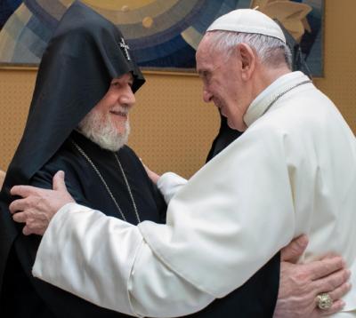 Iglesias católica y apostólica armenia, otro gesto de unidad