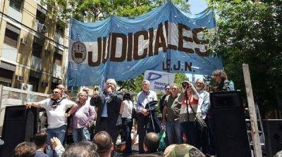 Judiciales anunciaron un paro en rechazo al debate por el Impuesto a las Ganancias