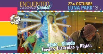 Mañana se realizará el Encuentro Sinodal Arquidiocesano