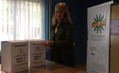 Marta Di Luca fue elegida como nueva presidenta del Distrito II del Colegio de Ingenieros