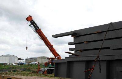 Una nueva empresa constructora se instala en el Sector Industrial