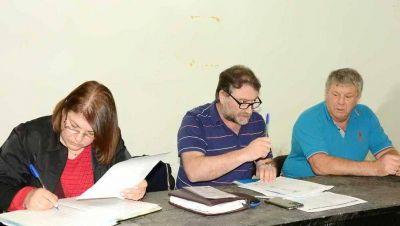 Gauna es el delegado de la CGT de calle Colón