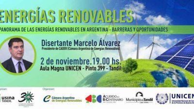 Charla sobre energías renovables impulsada por el Acuerdo del Bicentenario