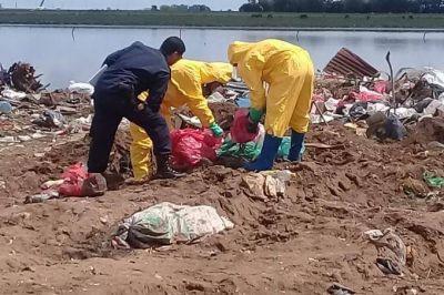 Hallan residuos patógenos y restos humanos en un basural de Trenque Lauquen: imputan al intendente