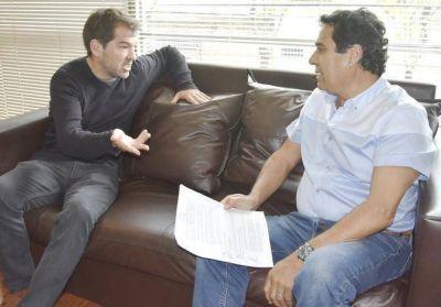 Di Cesare y Trujillo ratificaron puestos para trabajadores de General Alvarado en obra del Parque Eólico